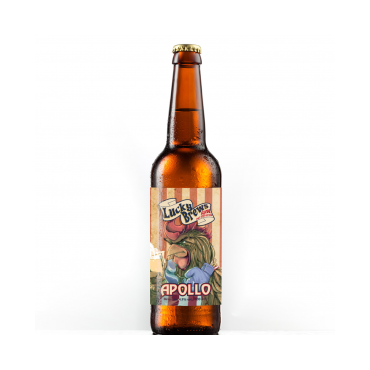 APOLLO GLUTEN FREE GOLDEN ALE 4,9° 33CL