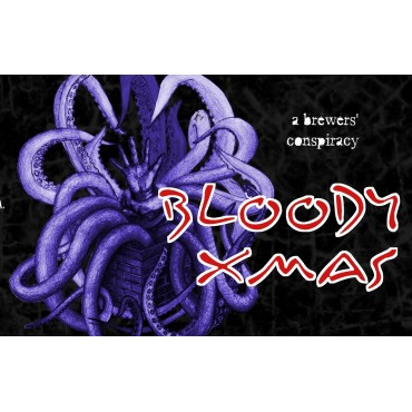 BLOODY XMAS BELGIAN STRONG ALE 9° 75CL