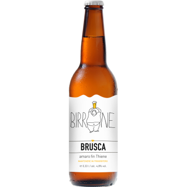 BRUSCA  PILS 4.8° 33 CL