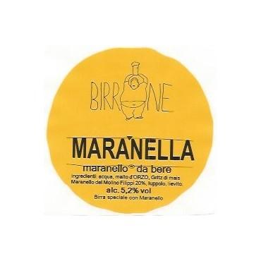 MARANELLA CORN ALE 5.4° G.FREE 20LT ACCIAIO