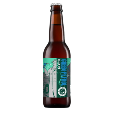 GREEN PETROL BLACK IPA 8.2° 33 CL