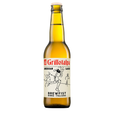 IL GRILLOTALPA AMERICAN LAGER 5.2° 33 CL