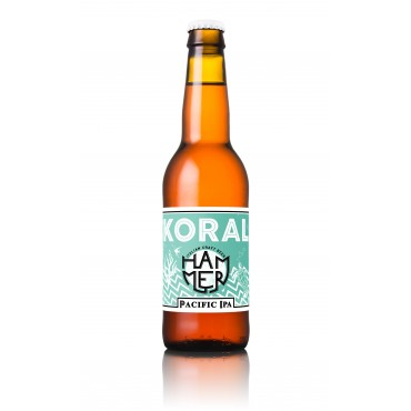KORAL PACIFIC IPA  6.3°  33 CL