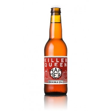 KILLER QUEEN  DOUBLE IPA 8.0°  33 CL
