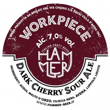 WORKPIECE DARK CHERRY SOUR ALE 7.0° 24 LT POLYKEG