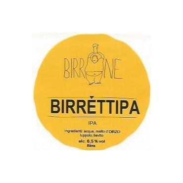 BIRRETTIPA IPA 6.5° 25 LT ACCIAIO