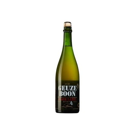 BOON OUDE GEUZE BLACK LABEL ED. N°4  7.0° 75CL