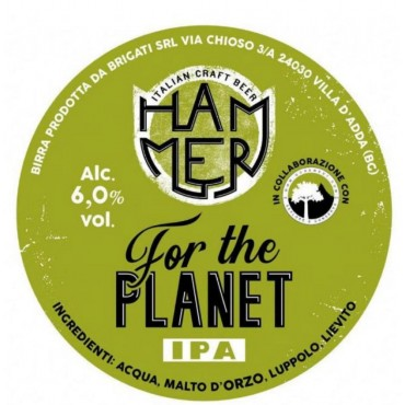 FOR THE PLANET IPA 6.0° 24 LT POLYKEG