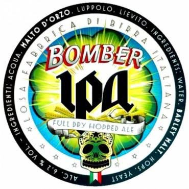 BOMBER AMERICAN IPA 6.2° 20 LT ACCIAIO