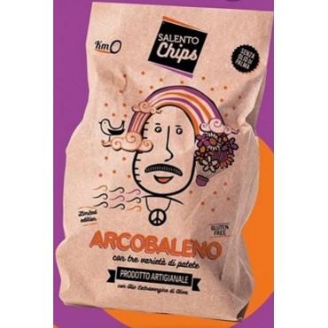 PATATINA ARCOBALENO SALENTO CHIPS 65 GR