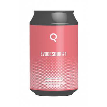 EVOQESOUR #1 FRUIT BERLINER WEISSE 33 CL LATTINA