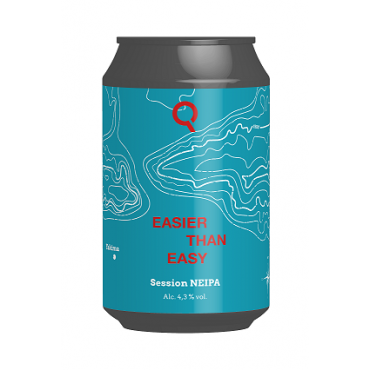 EASIER THAN EASY SESSION NEIPA 4.3° 33 CL LATTINA
