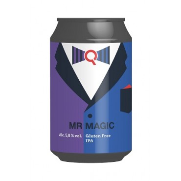 MR.MAGIC  GLUTEN FREE IPA 5.8° 33 CL LATTINA