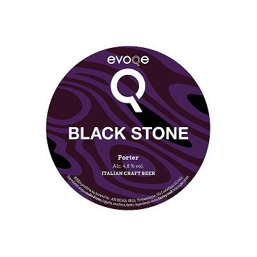 BLACK STONE PORTER 4.8° 24 LT POLYKEG