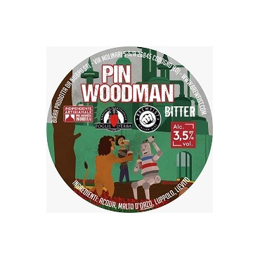 PIN WOODMAN BITTER 3.5° 20,6 LT PIN CASK