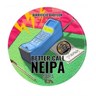 BETTER CALL NEIPA 6.3% VOL 24 LT POLYKEG