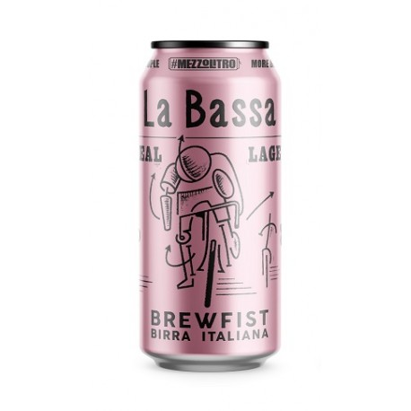LA BASSA REAL LAGER 5.2° 50 CL LATTINA