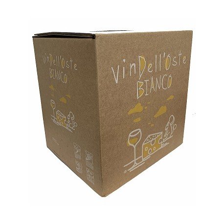VIN DELLOSTE BIANCO 5 LT BAG IN BOX