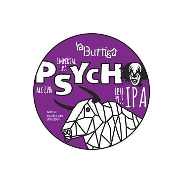 PSYCHO DOUBLE IPA 7.1° 20 LT ACCIAIO