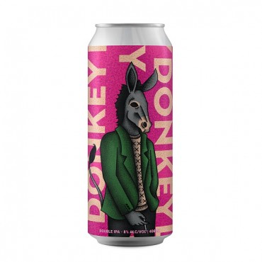 Donkey Killer Double Ipa 8.0° 40 Cl Lattina