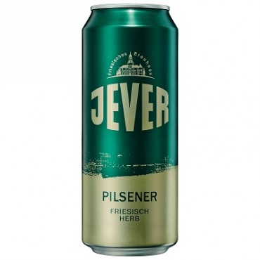 JEVER PILSNER 4.9° 50 CL LATTINA