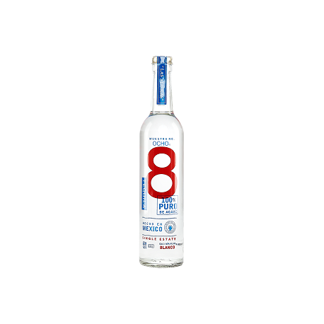 TEQUILA OCHO BLANCO 40% VOL 50 CL