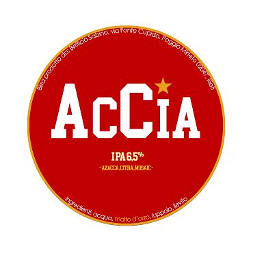 ACCIA IPA 6.5% VOL 24 LT POLYKEG