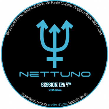NETTUNO SESSION IPA 4.0% VOL 30 LT POLYKEG
