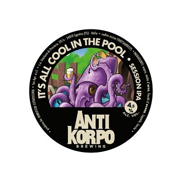 COOL IN THE POOL SESSION IPA 4.5% VOL 24 LT POL.