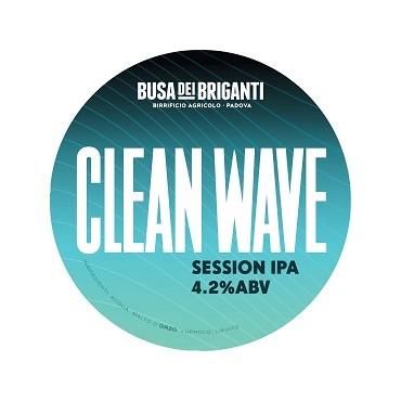 CLEANWAVE SESSION IPA 4.2% VOL 20 LT ACCIAIO