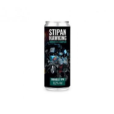 STIPAN HAWKING D.IPA 8.2% VOL 33 CL LATTINA