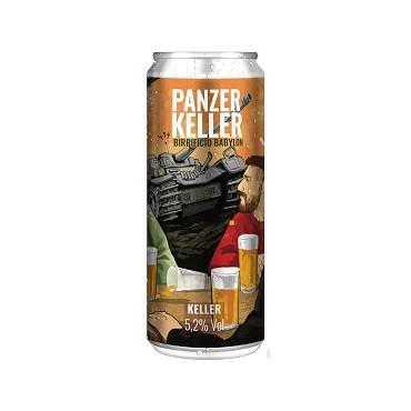PANZER KELLER 5.2% VOL 33 CL LATTINA
