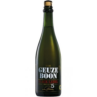 BOON OUDE GEUZE BLACK LABEL ED. N°5 7.0° 75CL